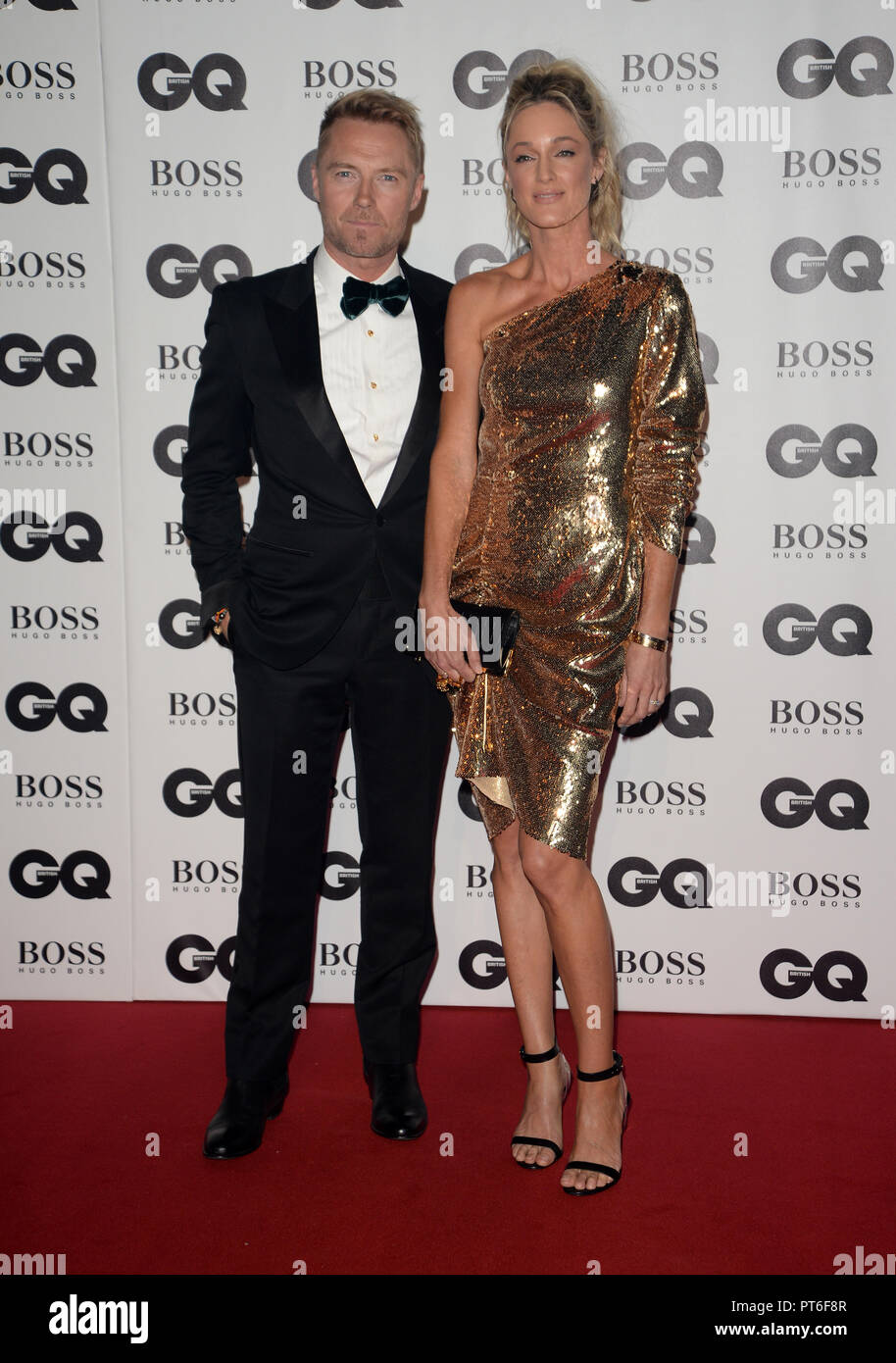GQ Men Of The Year Awards  Featuring: Ronan Keating Where: London, United Kingdom When: 05 Sep 2018 Credit: Tony Oudot/WENN - Stock Image