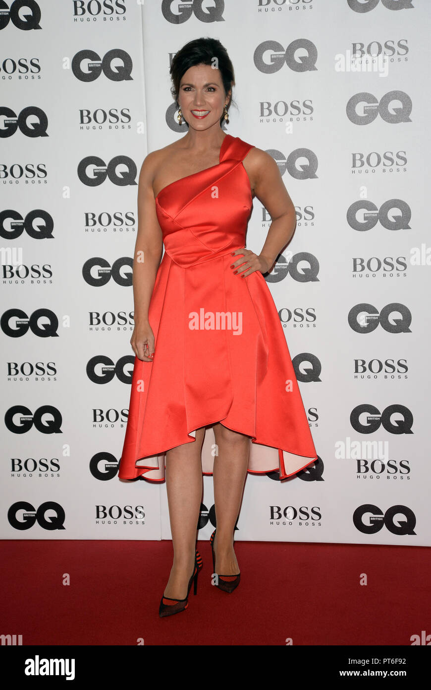 GQ Men Of The Year Awards  Featuring: Susanna Reid Where: London, United Kingdom When: 05 Sep 2018 Credit: Tony Oudot/WENN - Stock Image
