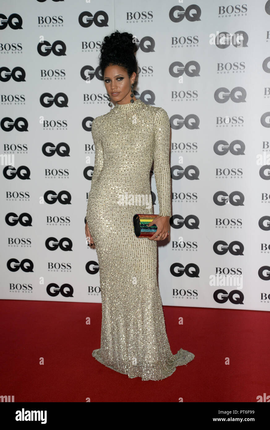 GQ Men Of The Year Awards  Featuring: Vick Hope Where: London, United Kingdom When: 05 Sep 2018 Credit: Tony Oudot/WENN - Stock Image