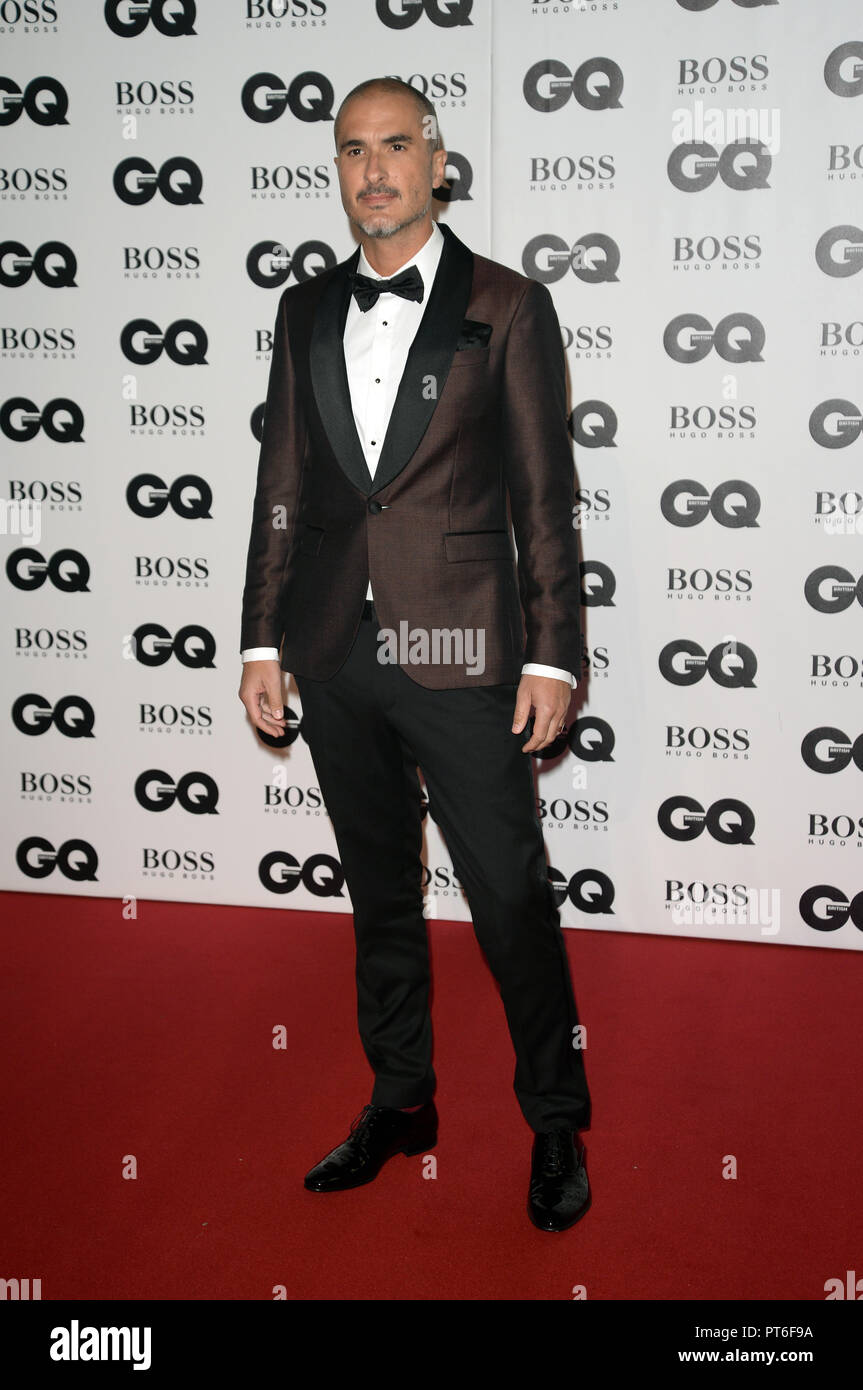 GQ Men Of The Year Awards  Featuring: Zane Lowe Where: London, United Kingdom When: 05 Sep 2018 Credit: Tony Oudot/WENN - Stock Image