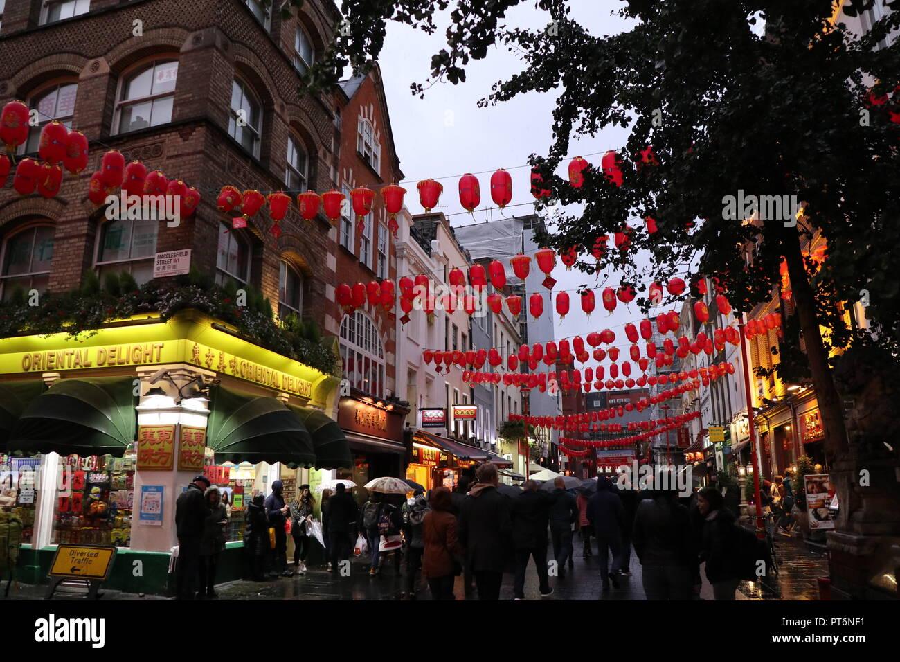 China Town London 2018 - Stock Image