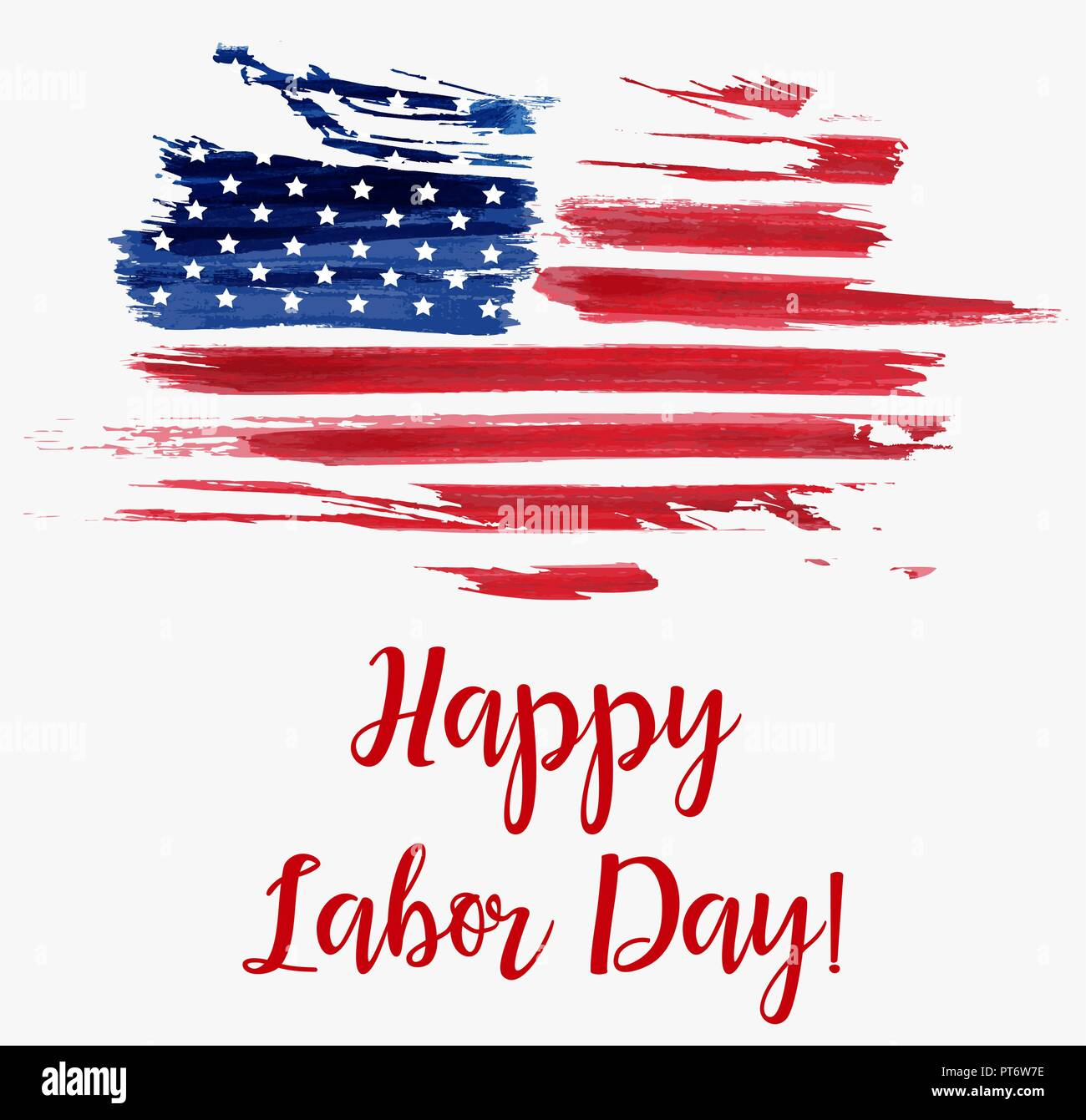 usa labor day holiday background grunge abstract flag template for