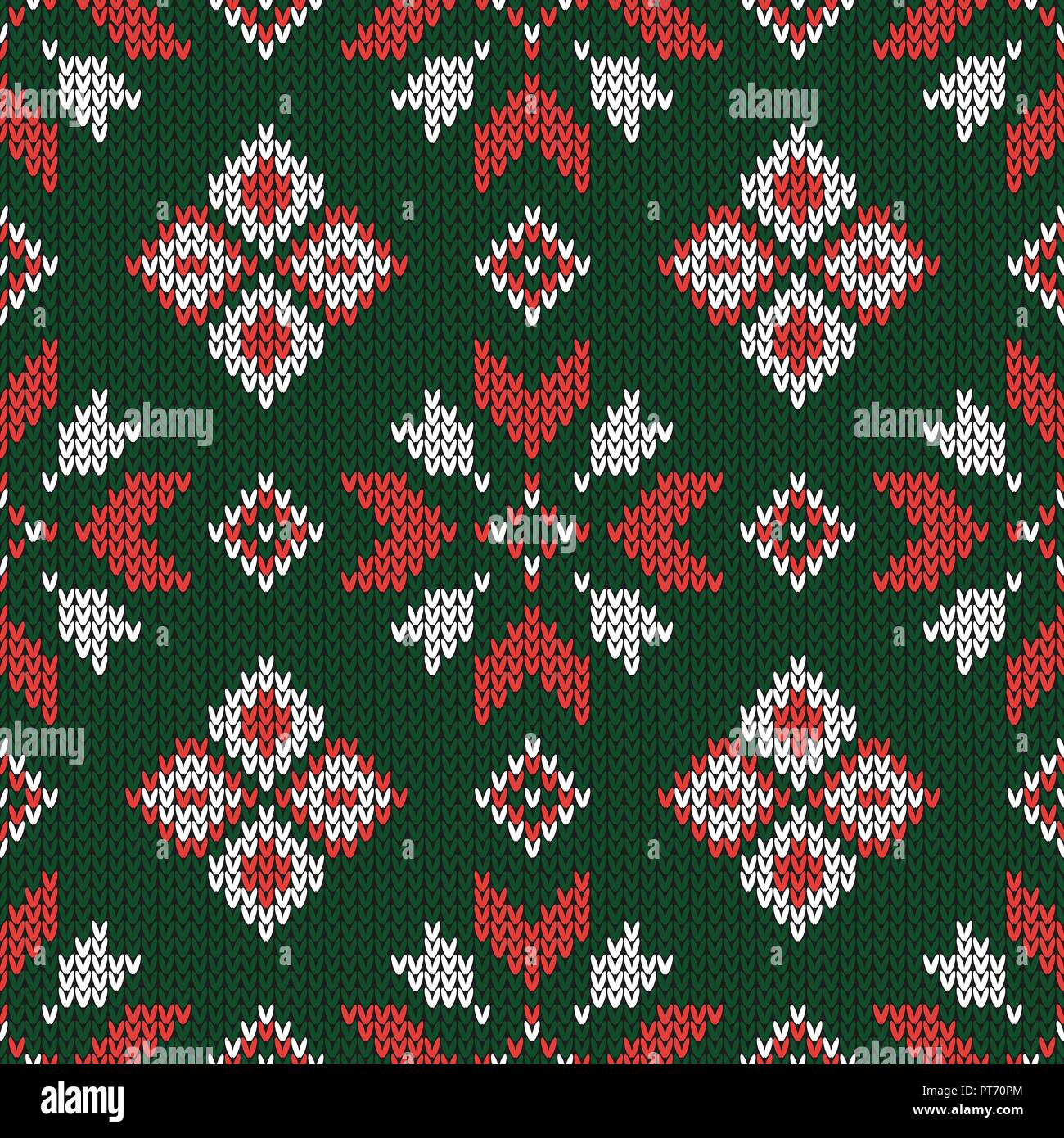 6b5683a45 Christmas knitted pattern. Geometric abstract seamless pattern. Design for  sweater