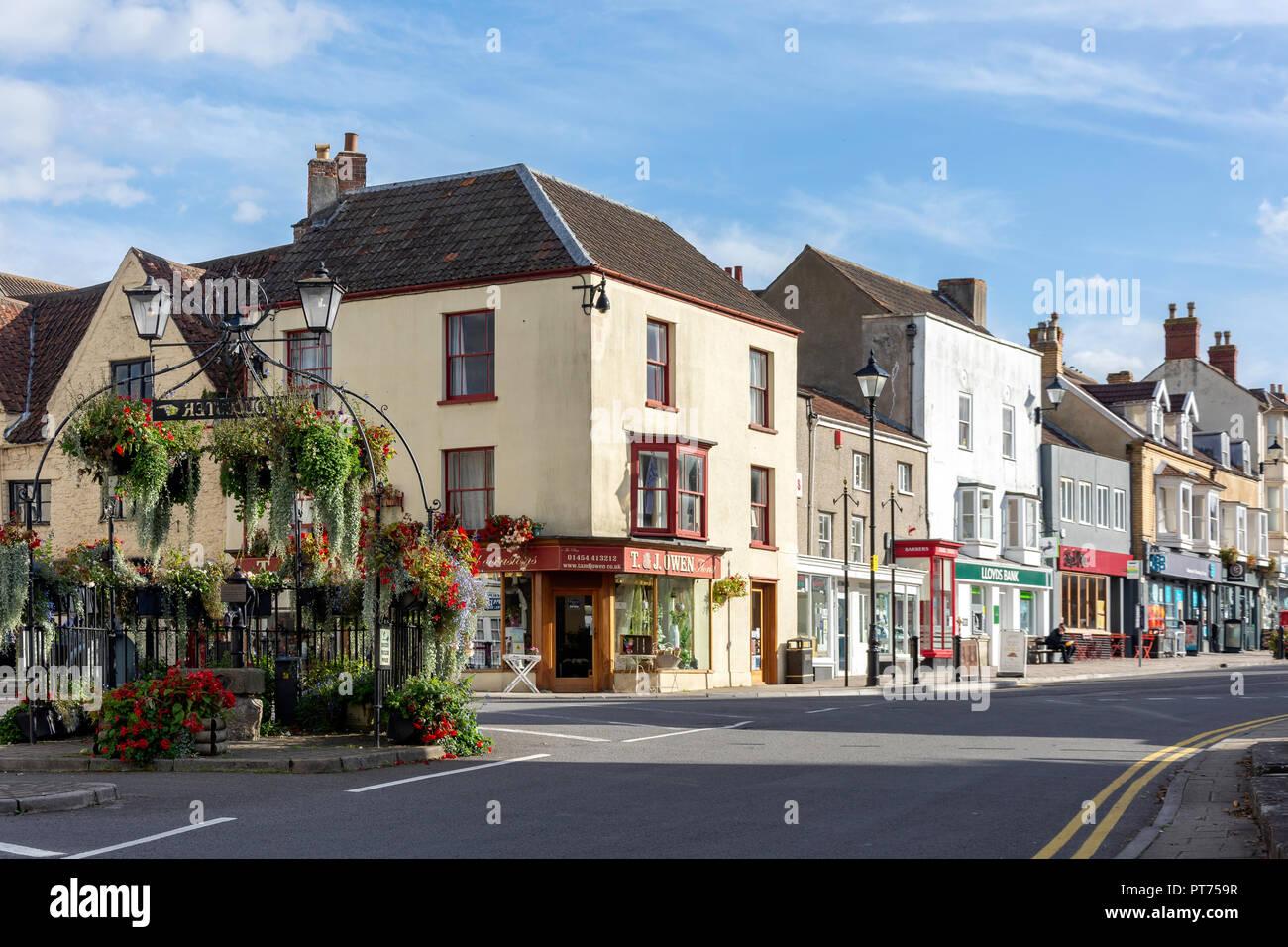 High Street, Thornbury, Gloucestershire, England, United Kingdom - Stock Image
