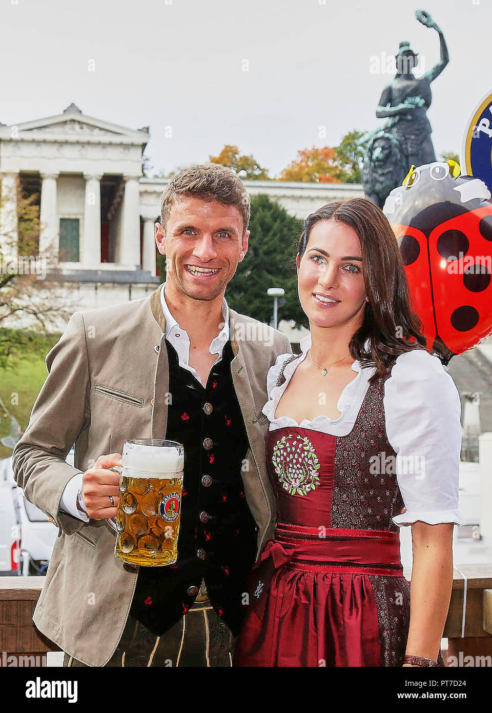 Germany International Mueller Wife Lisa Stock Photos