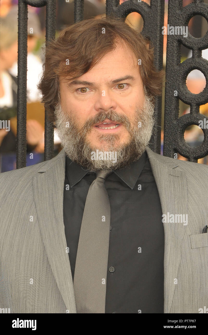 UK premiere of 'The House With The Clock In Its Walls' - Arrivals  Featuring: Jack Black Where: London, United Kingdom When: 05 Sep 2018 Credit: WENN.com Stock Photo