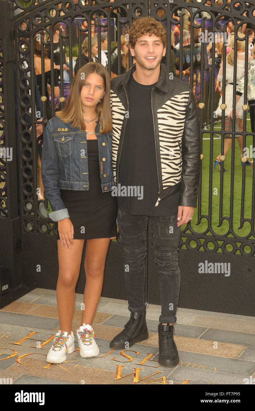 UK premiere of 'The House With The Clock In Its Walls' - Arrivals  Featuring: Eyal Booker Where: London, United Kingdom When: 05 Sep 2018 Credit: WENN.com - Stock Image