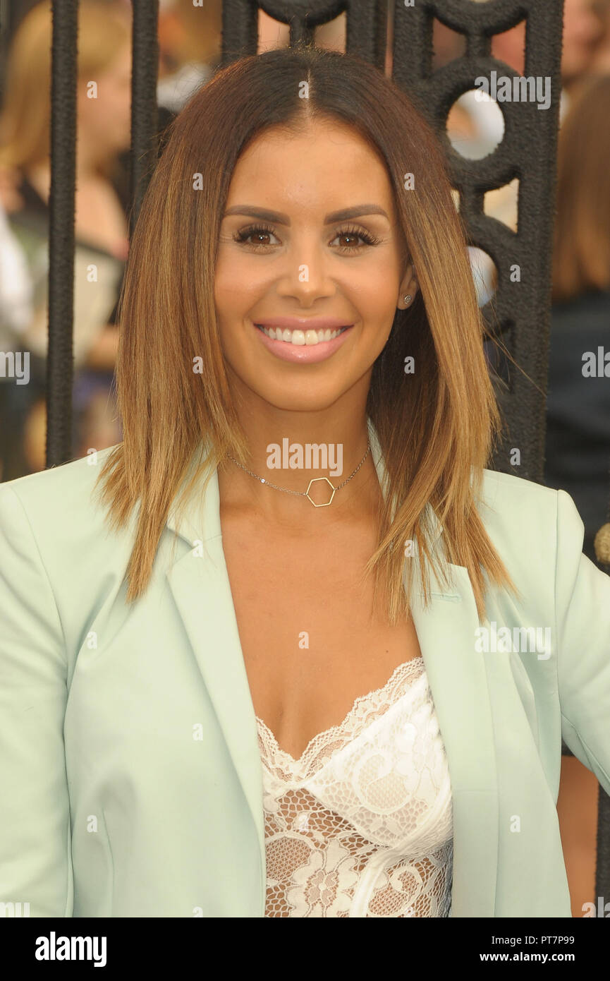UK premiere of 'The House With The Clock In Its Walls' - Arrivals  Featuring: Shanie Ryan Where: London, United Kingdom When: 05 Sep 2018 Credit: WENN.com - Stock Image