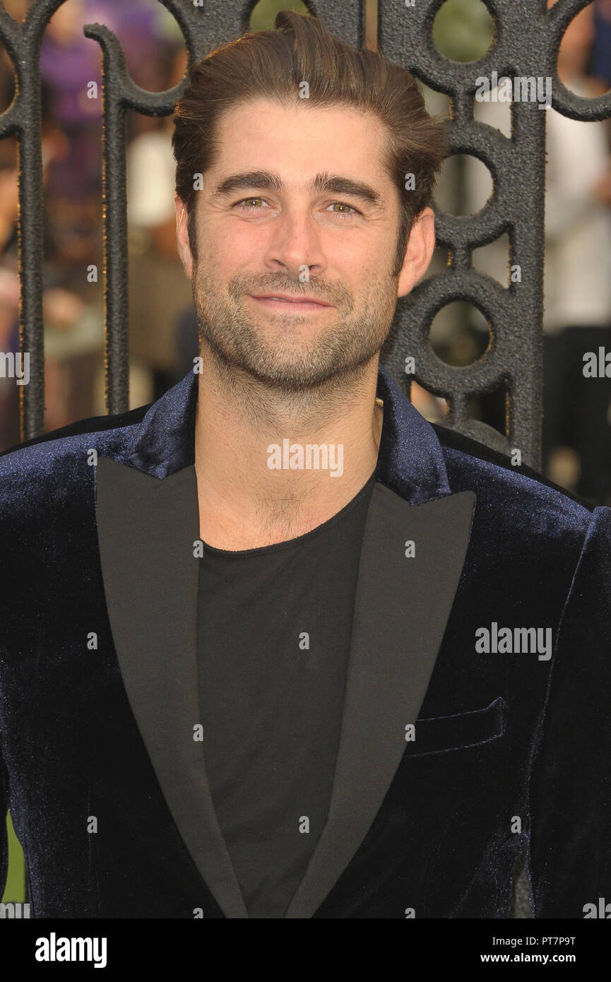 UK premiere of 'The House With The Clock In Its Walls' - Arrivals  Featuring: Matt Johnson Where: London, United Kingdom When: 05 Sep 2018 Credit: WENN.com - Stock Image