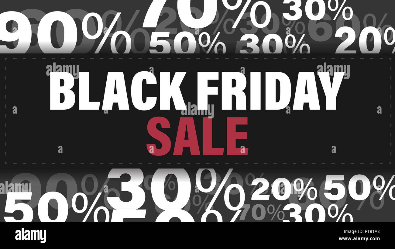 black friday sale banner black friday design template for banner