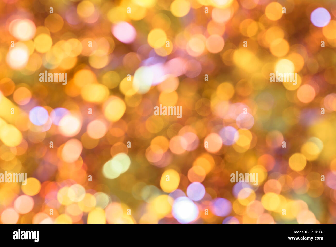 Background Texture Full Of Unsharp Blurring Golden Yellow And Cute