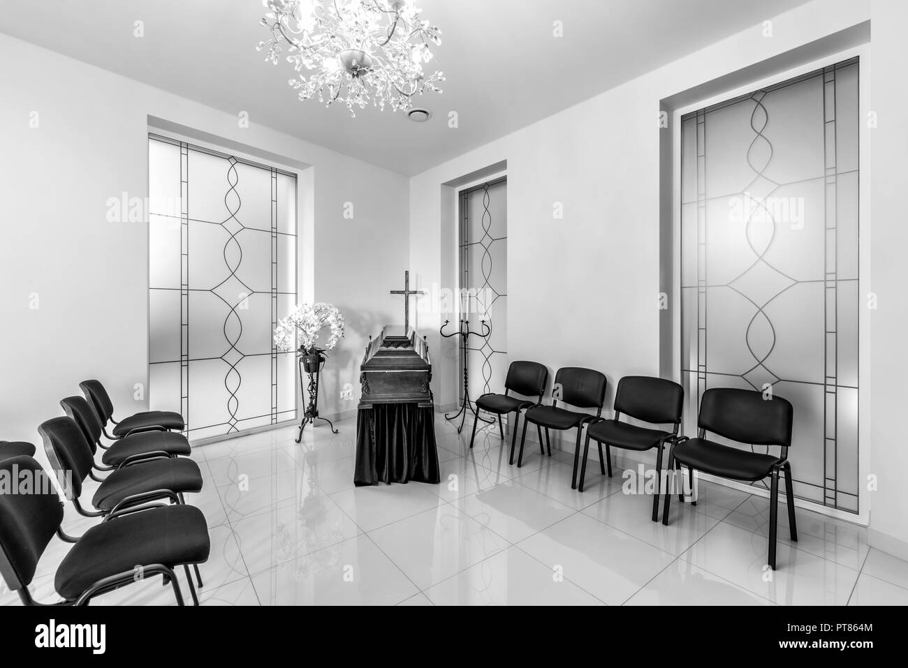 Funeral Home Interior High Resolution Stock Photography And Images Alamy