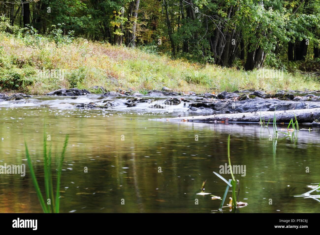Hiking Trail, Unity Maine, Evens Pond