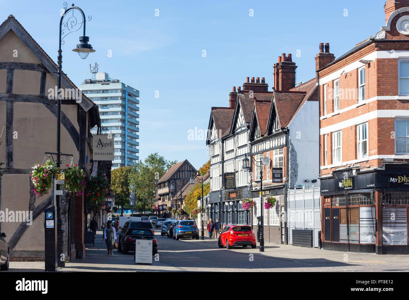 Spon Street, Coventry, West Midlands, England, United Kingdom - Stock Image