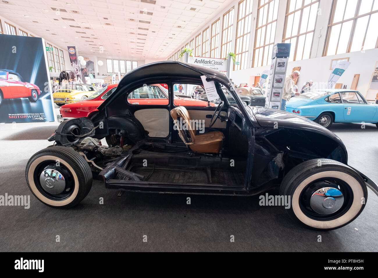 Berlin, Germany. 06th Oct, 2018. A Moto Classic trade show, oldtimers. Credit: Beata Siewicz/Pacific Press/Alamy Live News - Stock Image