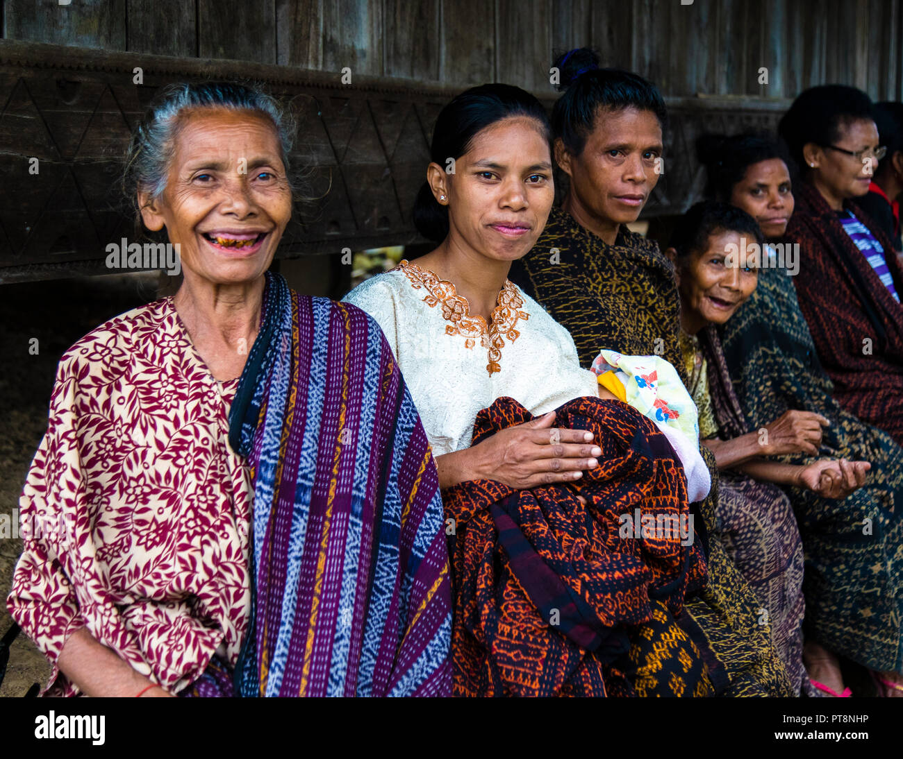Indonesian People In Traditional Attire Stock Photo Alamy