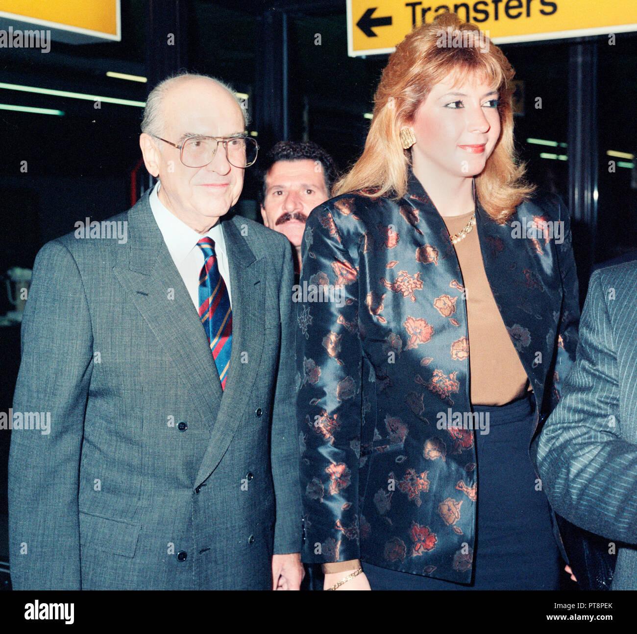 Former Greece PM wife Dimitra Liani-Papandreou I live