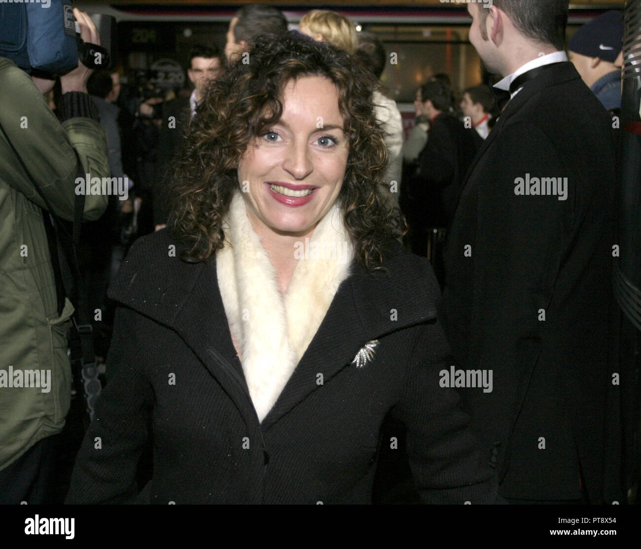 Gillian Berrie is a well known Scottish award winning, successful, film producer and is responsible for setting up the Sigma production company. - Stock Image