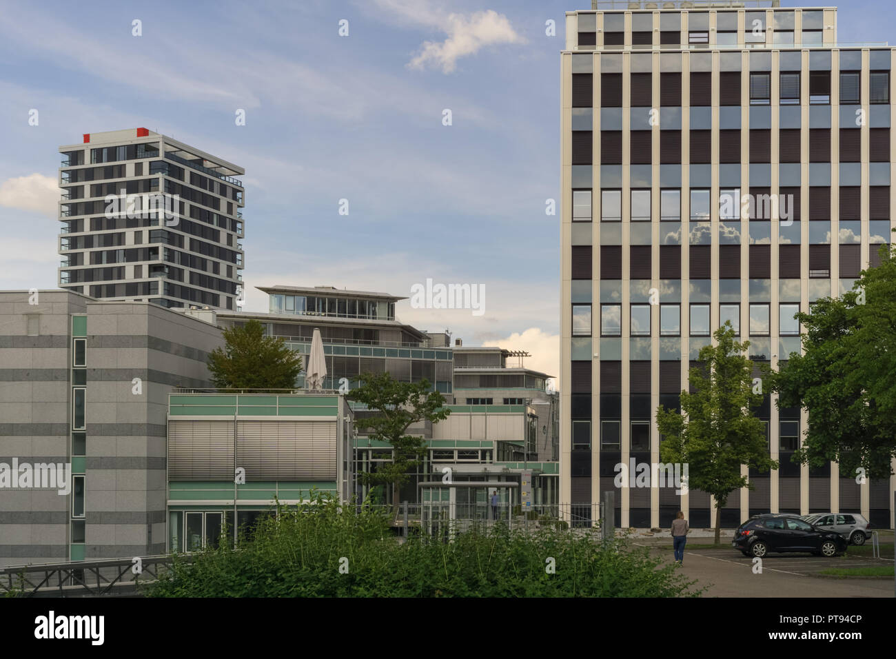 STUTTGART,GERMANY   MAY 25,2018: This Is A Small Office Building Of The  Robert Bosch,the Big Electronics Company.Itu0027s In Maybachstrasse.
