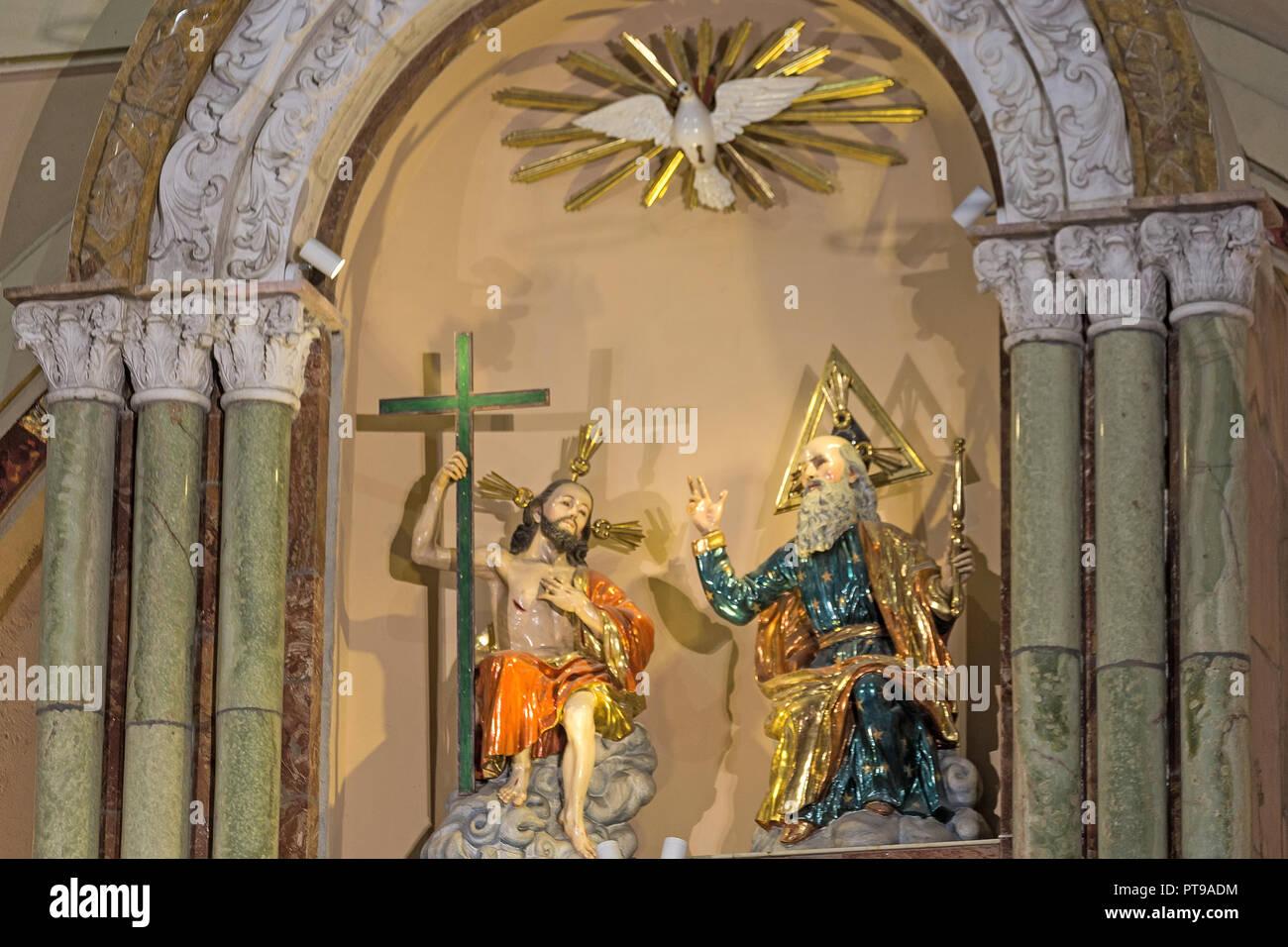 New cathedral Cuenca Ecuador - Stock Image