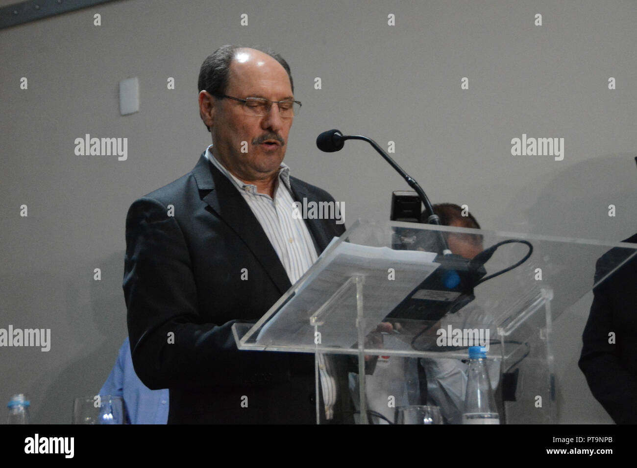 PORTO ALEGRE, RS - 07 10 2018: ELECTIONS 2018 RS - Press conference