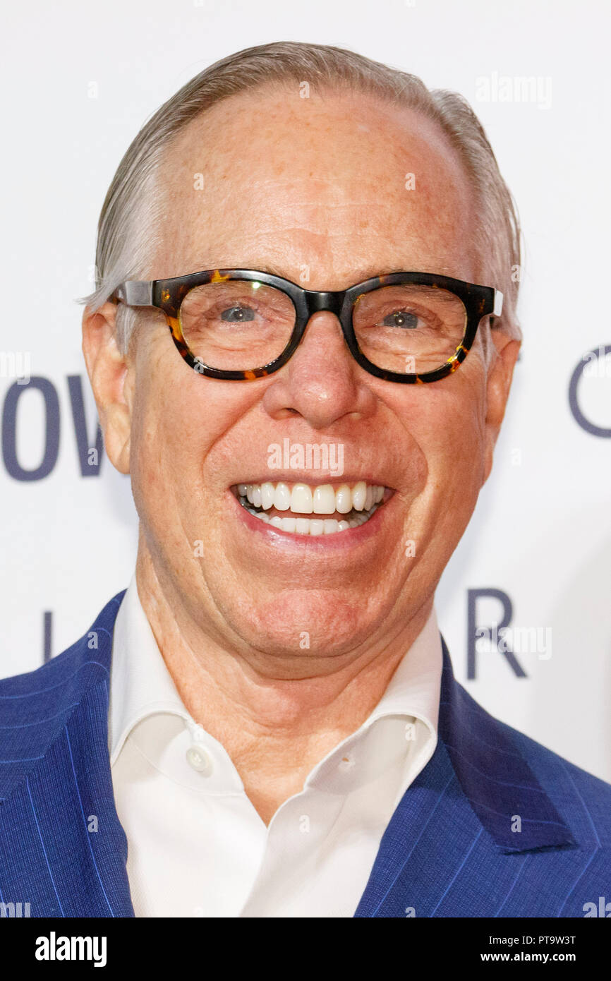 6469e1db3 American fashion designer Tommy Hilfiger poses for the cameras during Tokyo  Icons event on October 8, 2018, Tokyo, Japan. The American fashion brand ...