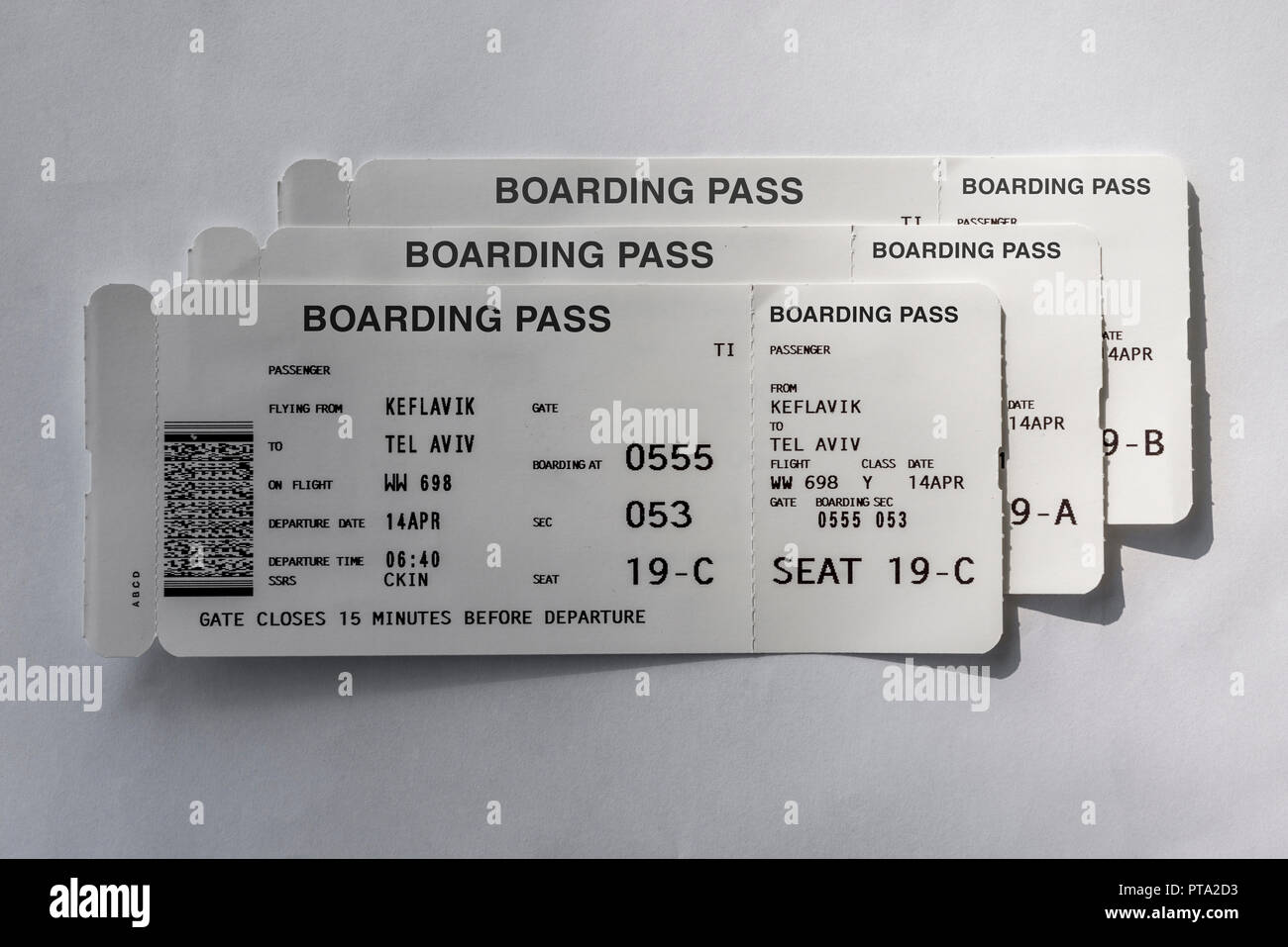 e89cf3c6018 Airline Boarding Pass Stock Photos   Airline Boarding Pass Stock ...