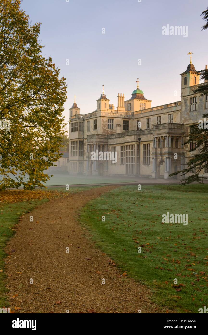 Audley End House Gardens Stock Photos & Audley End House Gardens ...