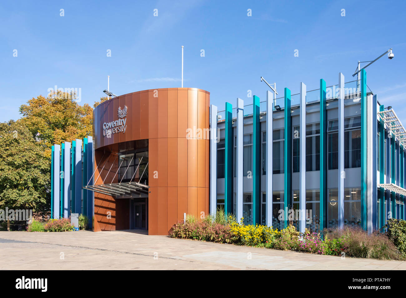 Alan Berry Building, Coventry University, Priory Street, Coventry, West Midlands, England, United Kingdom - Stock Image
