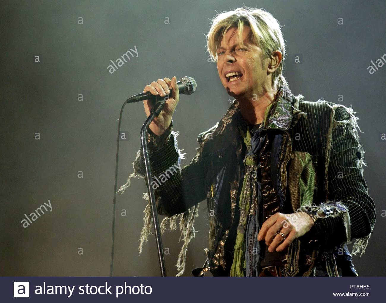 File photo dated 13/06/04 of David Bowie  The BBC will mark the 50th