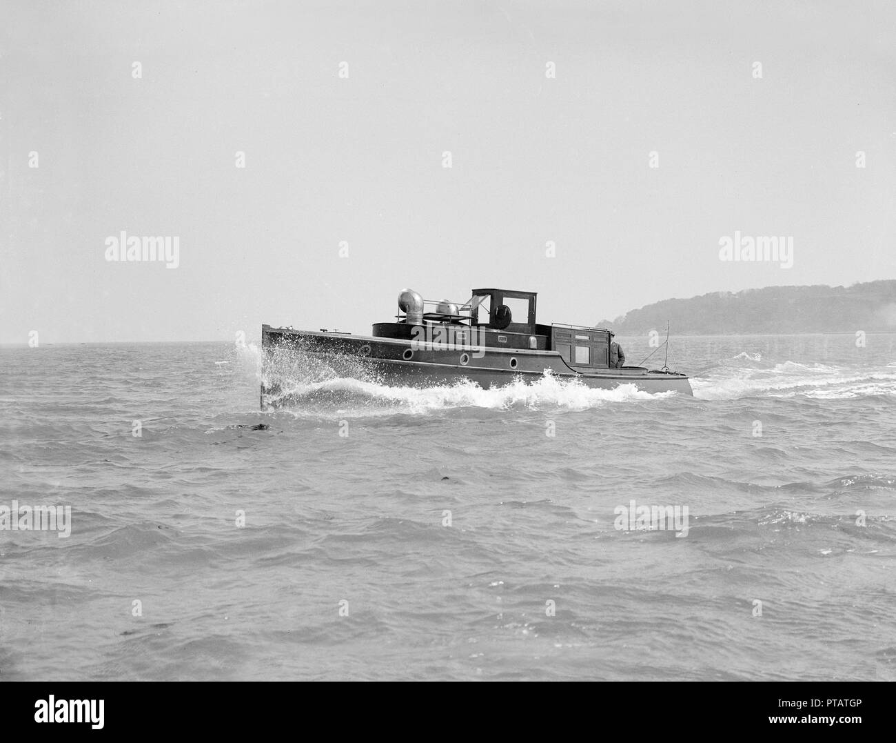 Wolseley motor launch, 1914  The Wolseley Motors company, a