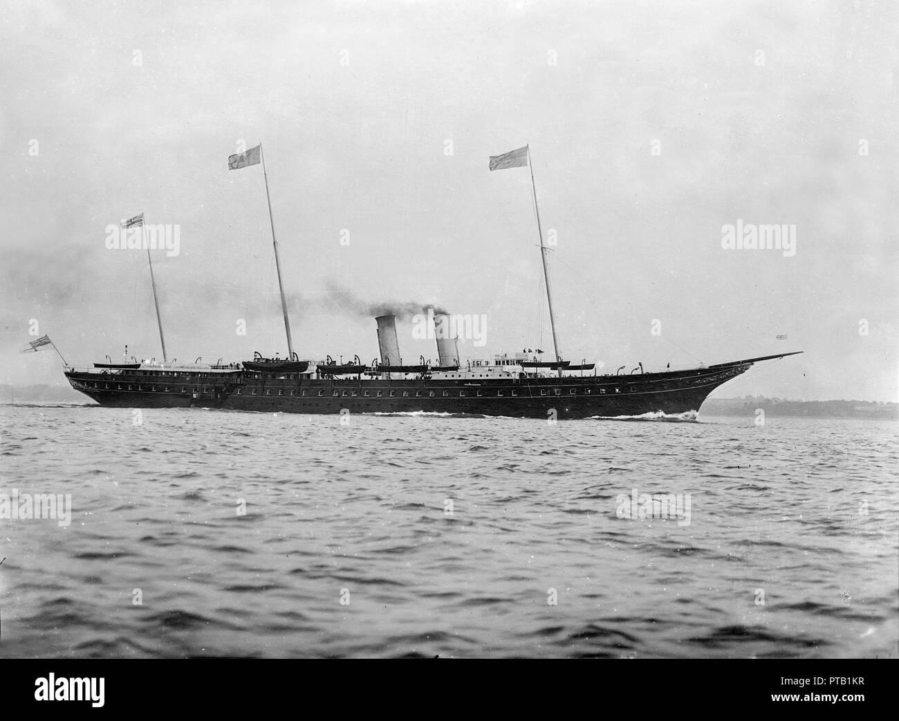 d441b1e928f The Royal Yacht  HMY Victoria and Albert  (1899).  HMY Victoria