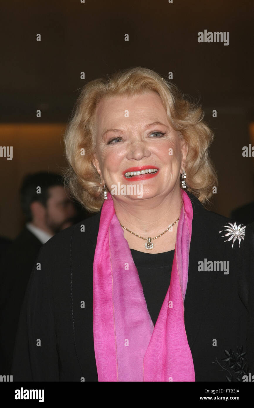 Gena Rowlands  06/12/05 'The 32nd Annual Vision Awards'   @ Beverly Hilton Hotel, Beverly Hills Photo by Ima Kuroda/HNW / PictureLux  File Reference # 33680_232HNW - Stock Image