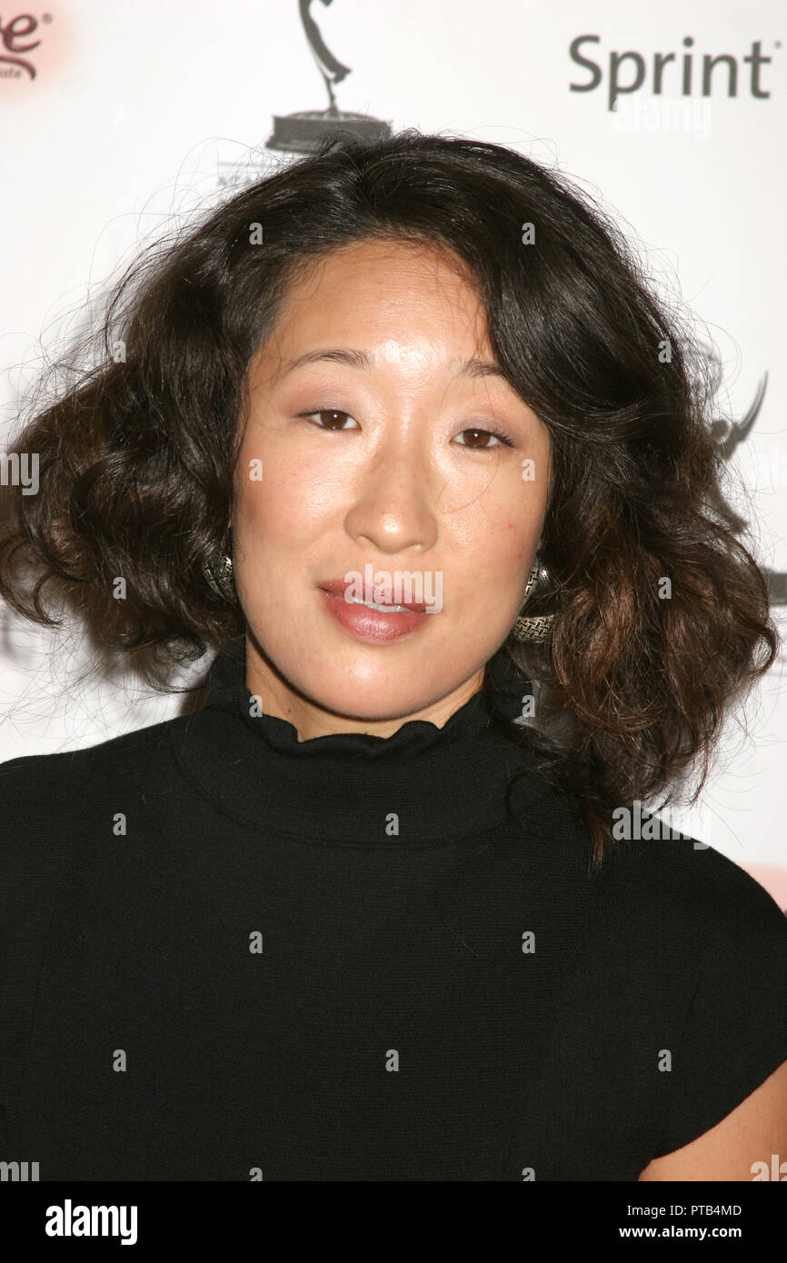 Sandra Oh  09/14/07 '59th Primetime Emmy Awards Performer Nominee Reception'  @ Pacific Design Center, West Hollywood Photo by Ima Kuroda/HNW / PictureLux  File Reference # 33680_662HNW - Stock Image