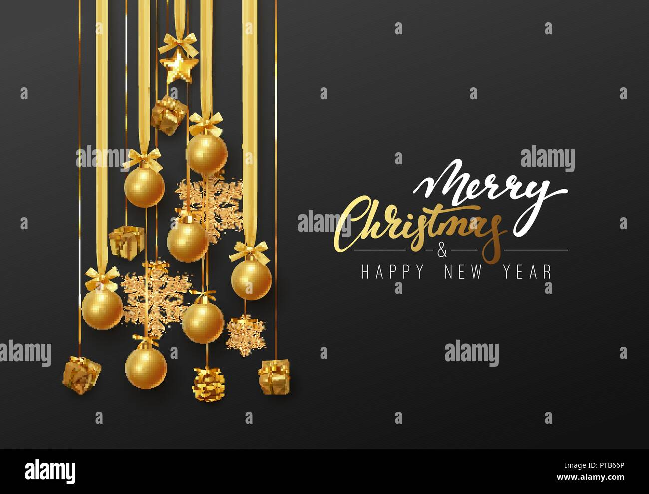 Christmas Background Greeting Cards Banner Poster