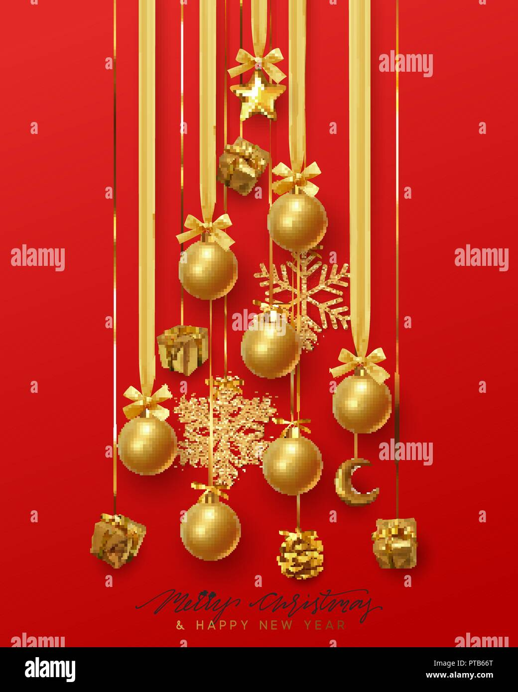 Christmas Background Greeting Cards Banner Poster Bright