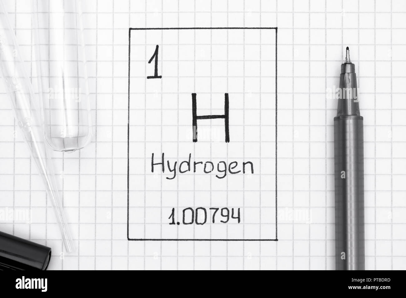 Periodic Table Hydrogen Stock Photos Periodic Table Hydrogen Stock