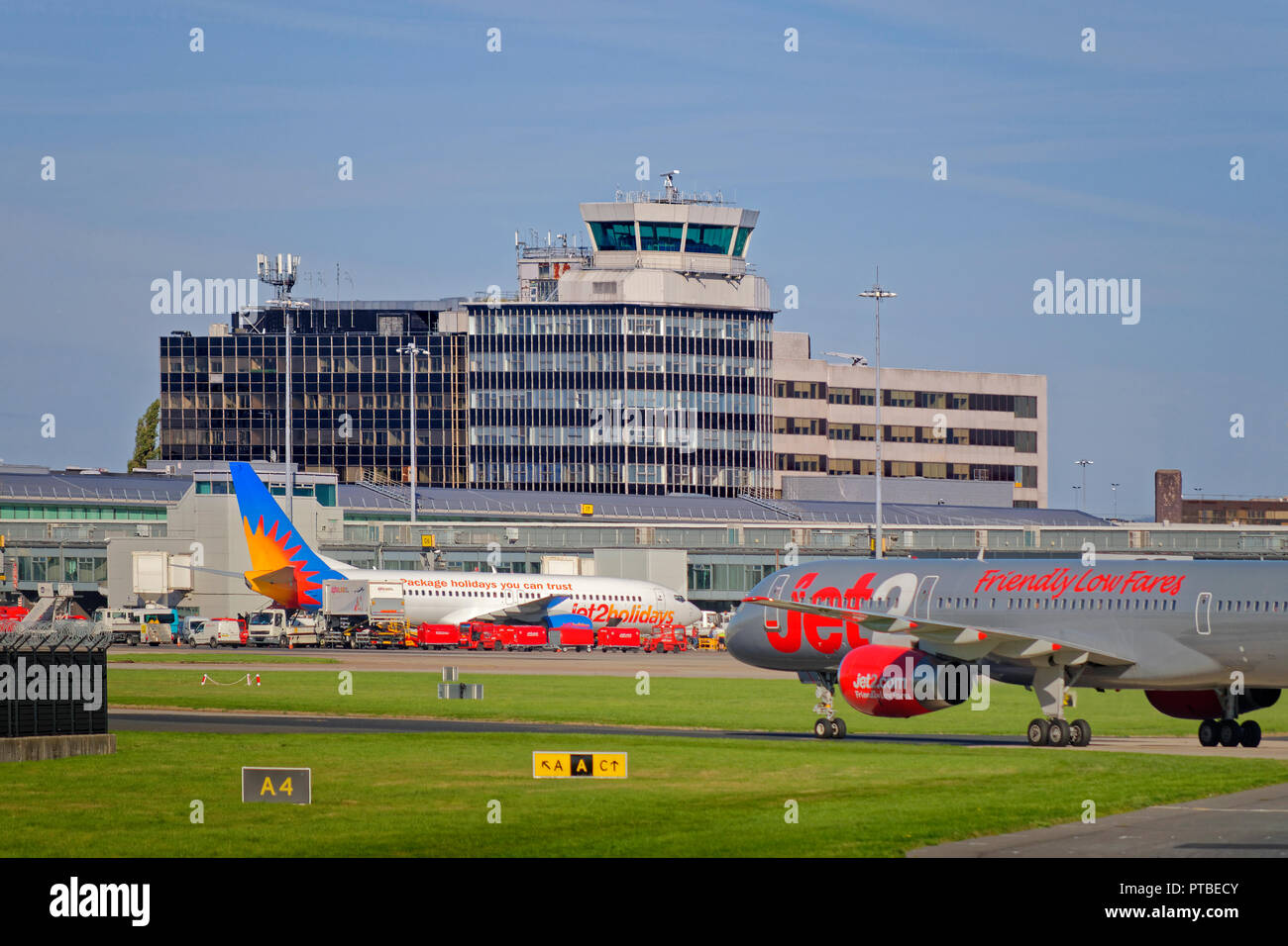 Uk England Manchester Manchester Airport Stock Photos Uk England