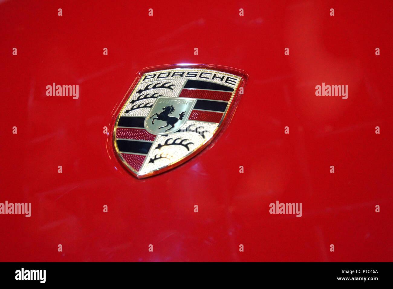 Porsche Logo Emblem Stock Photos Porsche Logo Emblem Stock Images