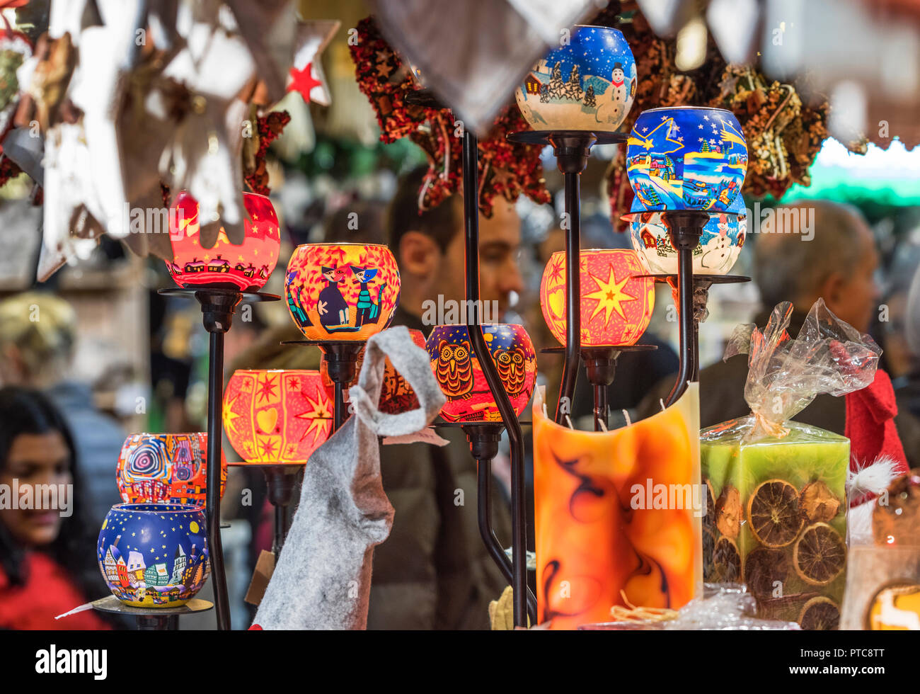 Christmas decorations At Fiera Milano - the international fair - Stock Image