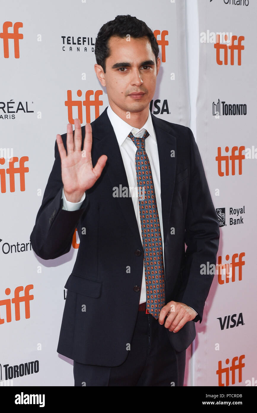 2018 Toronto Film Festival - 'Teen Spirit' - Premiere  Featuring: Max Minghella Where: Toronto, Canada When: 07 Sep 2018 Credit: Jaime Espinoza/WENN.com Stock Photo