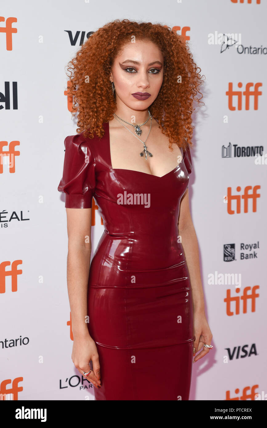 2018 Toronto Film Festival - 'Teen Spirit' - Premiere  Featuring: Ursula Holliday Where: Toronto, Canada When: 07 Sep 2018 Credit: Jaime Espinoza/WENN.com Stock Photo