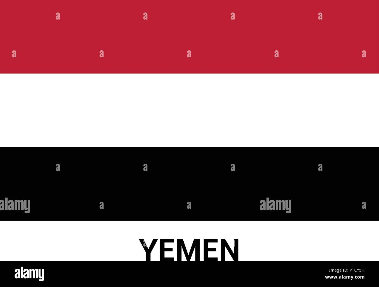 Yemen Independence day design card vector Stock Vector