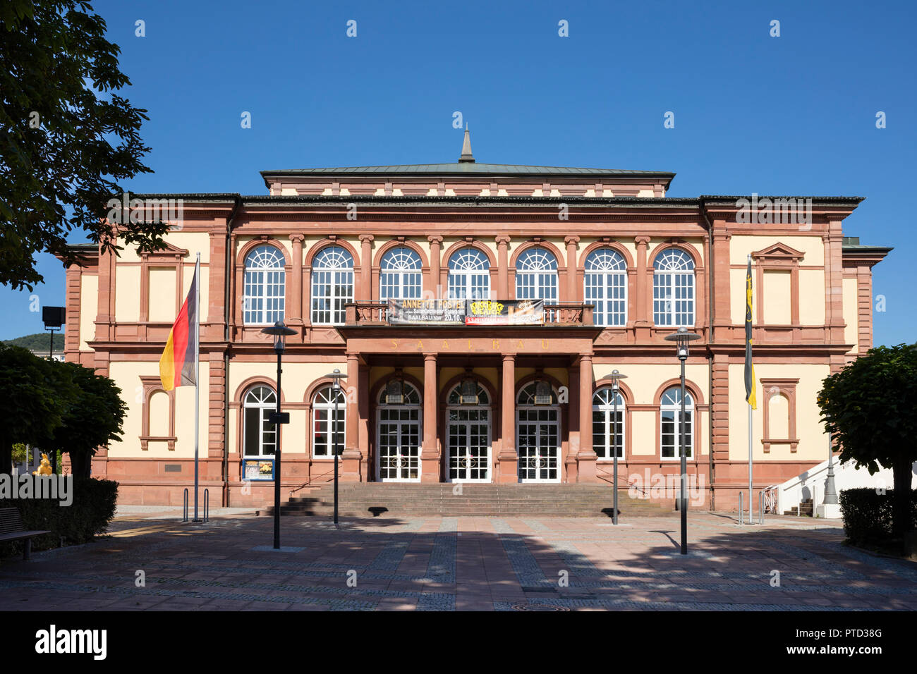 Saalbau, Neustadt an der Weinstraße, Palatinate, Rhineland-Palatinate, Germany Stock Photo