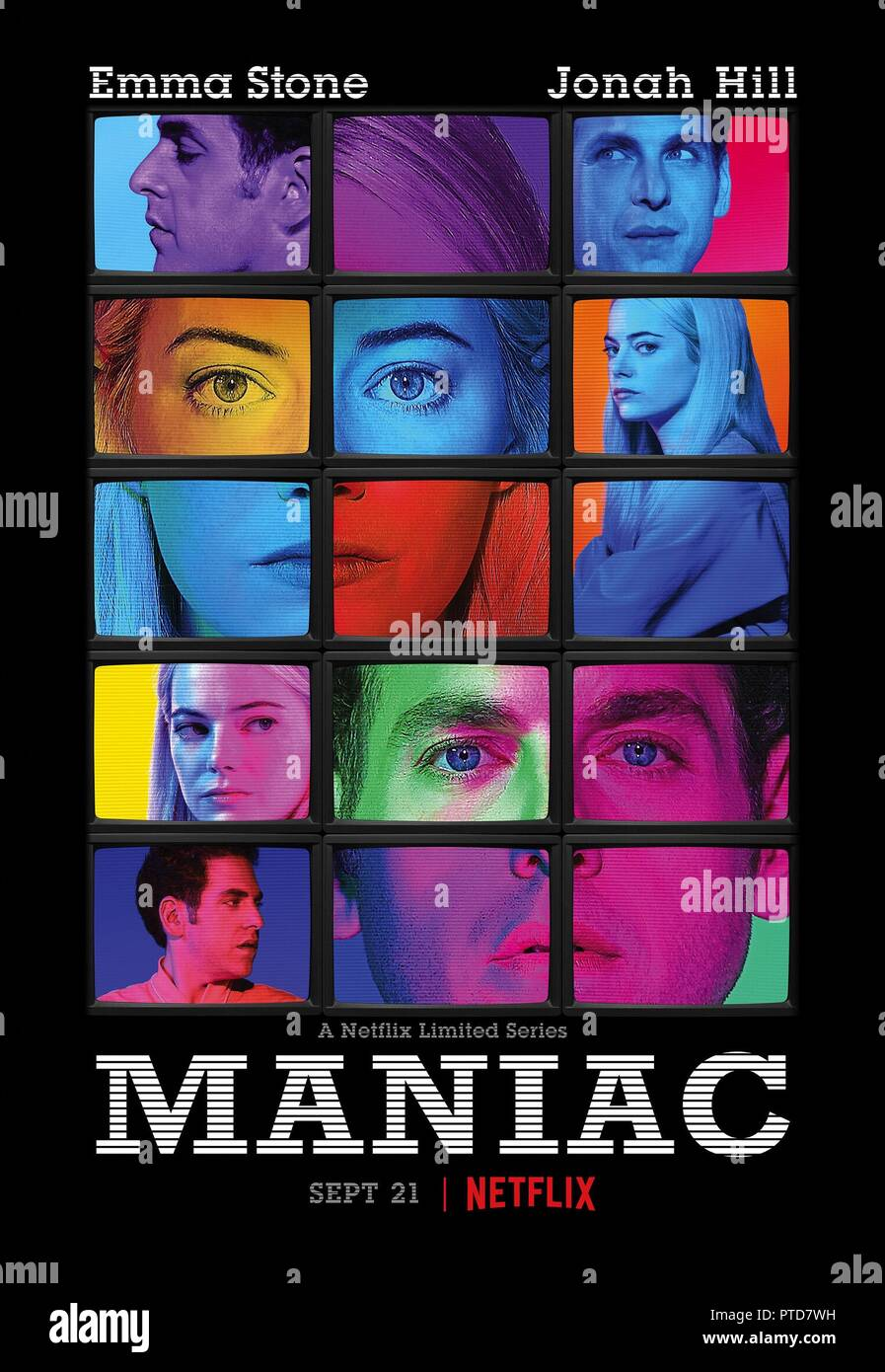 Original film title: MANIAC. English title: MANIAC. Year: 2018. Director: CARY FUKUNAGA. Credit: PARAMOUNT TELEVISION / Album - Stock Image