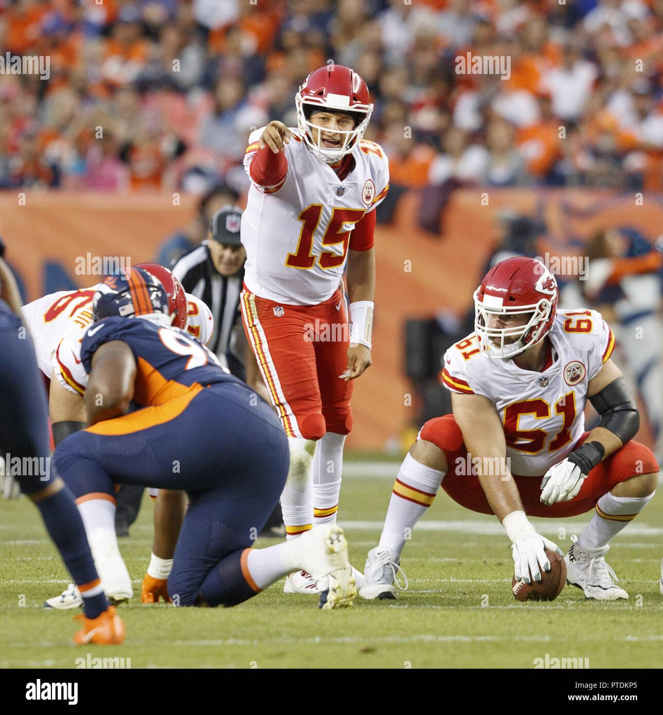 Chiefs Broncos Stock Photos & Chiefs Broncos Stock Images