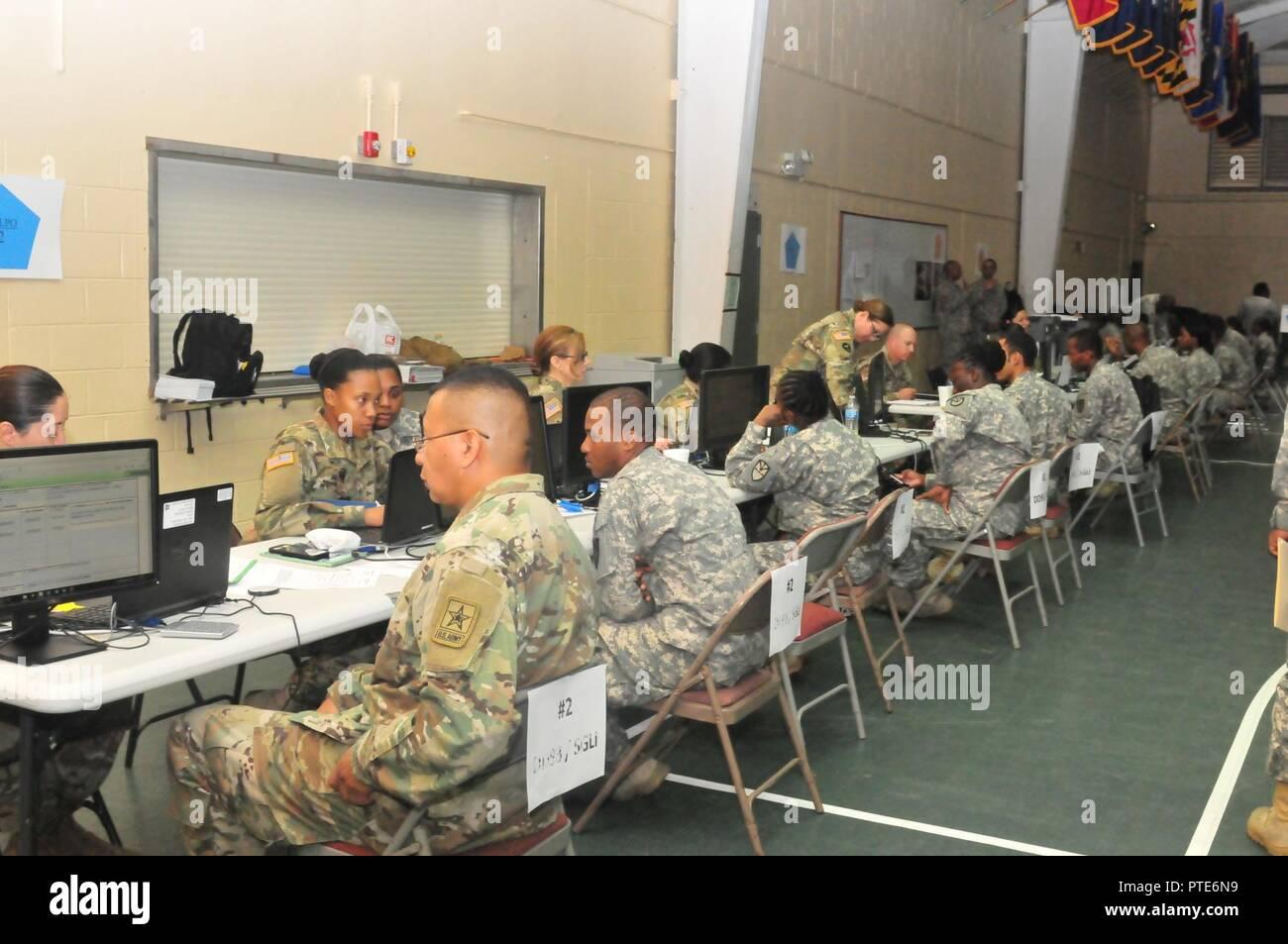 VIRGIN ISLANDS-(Soldiers from the Virgin Islands National