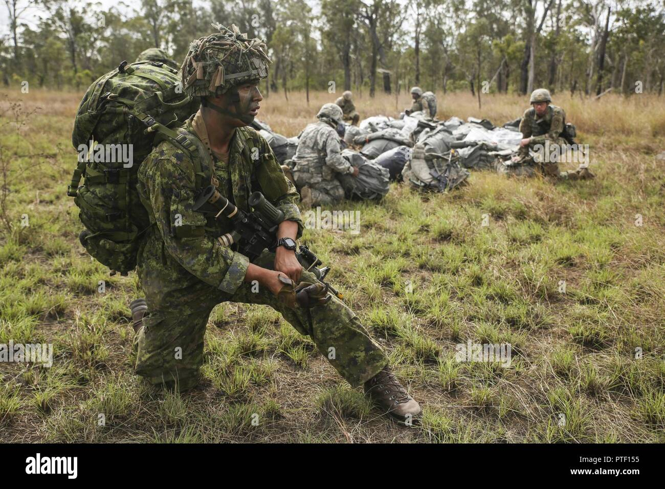 Canadian Army Pvt  Ambrose Robitaille, an infantryman with 3rd