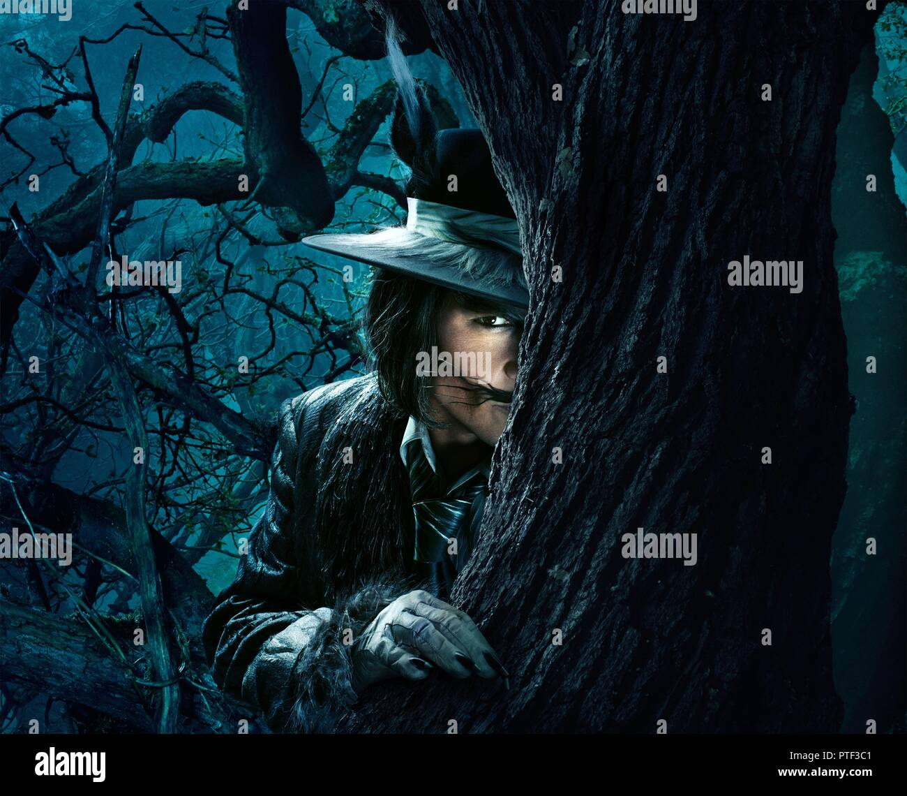 Original film title: INTO THE WOODS. English title: INTO THE WOODS. Year: 2014. Director: ROB MARSHALL. Stars: JOHNNY DEPP. Credit: WALT DISNEY PICTURES / Album - Stock Image