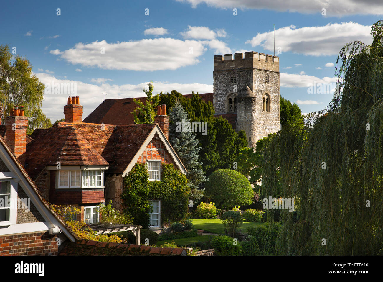 England Berkshire Goring On Thames Mill Cottage George Michael S Home Next To Church Stock Photo Alamy,Small Space Small Built In Cabinets Bedroom